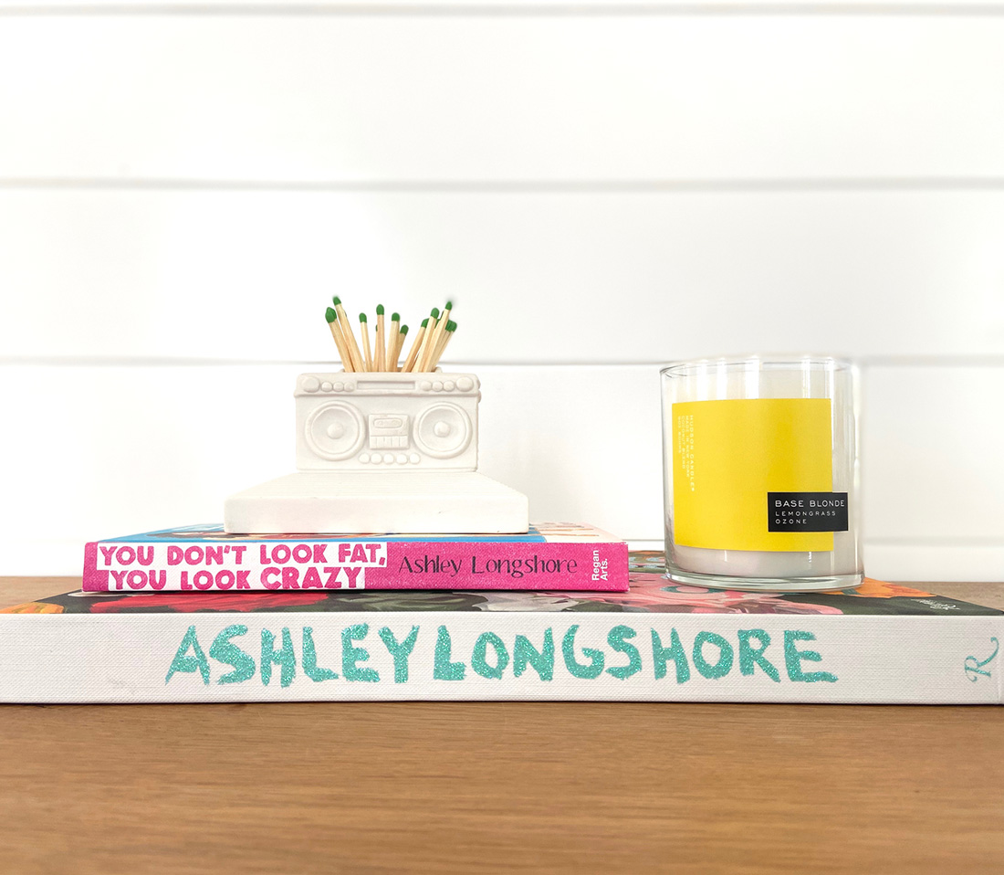 Ashley Longshore I Do Not Cook Book Love Joi