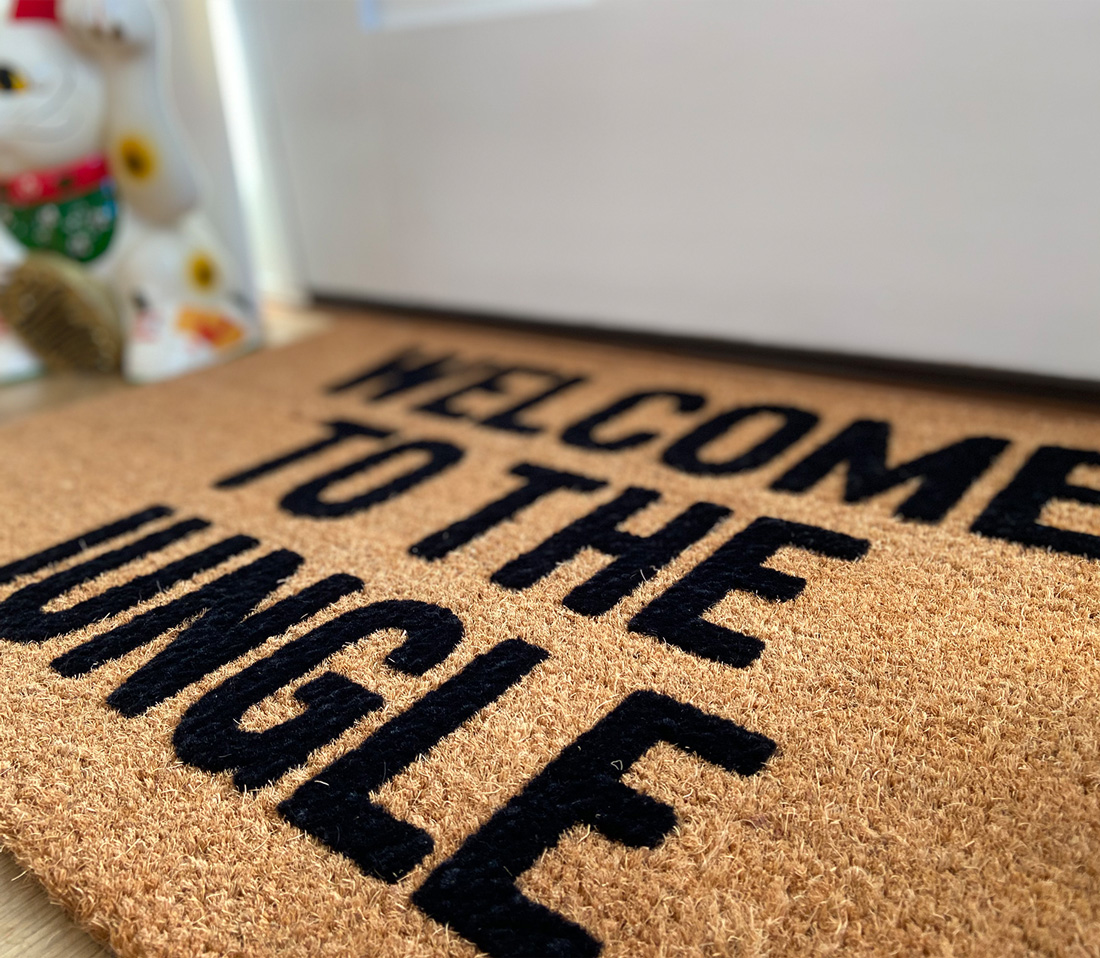 Welcome To The Jungle Doormat Lovejoi Essential Eight